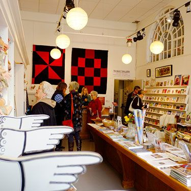 gallery shop interior