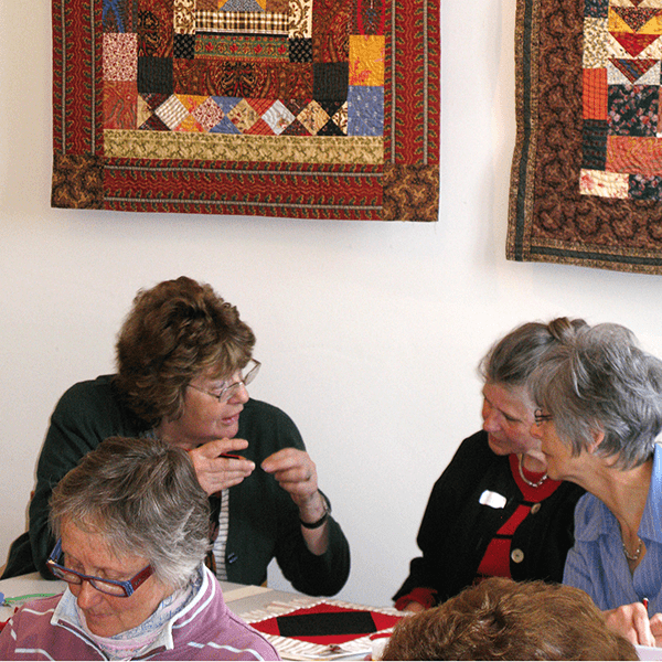 mary workshop at the Welsh Quilt Centre