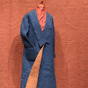 Dressing gown blue