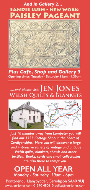 flyer for magical quilts exhibition